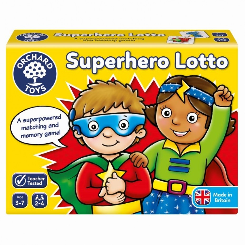 Superhero Lotto - Orchard Toys