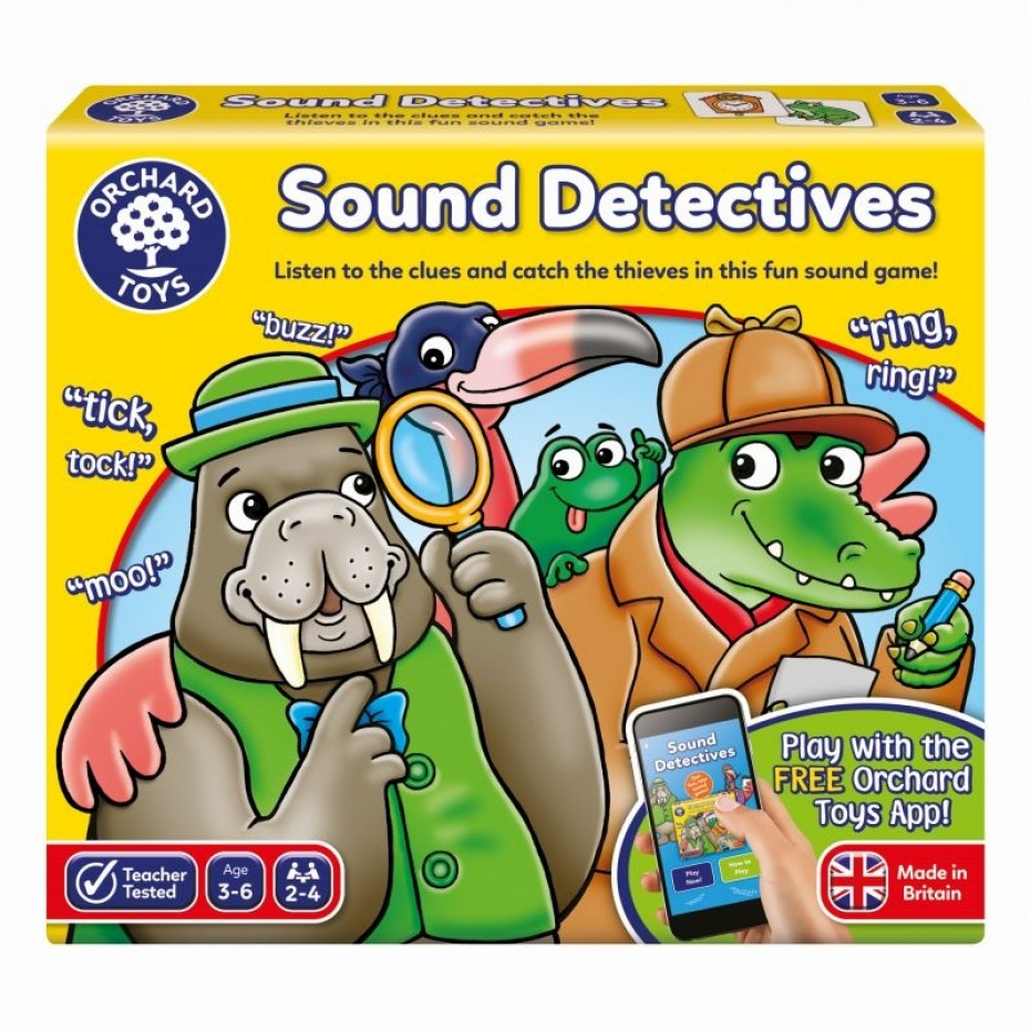 Sound Detectives - Orchard Toys