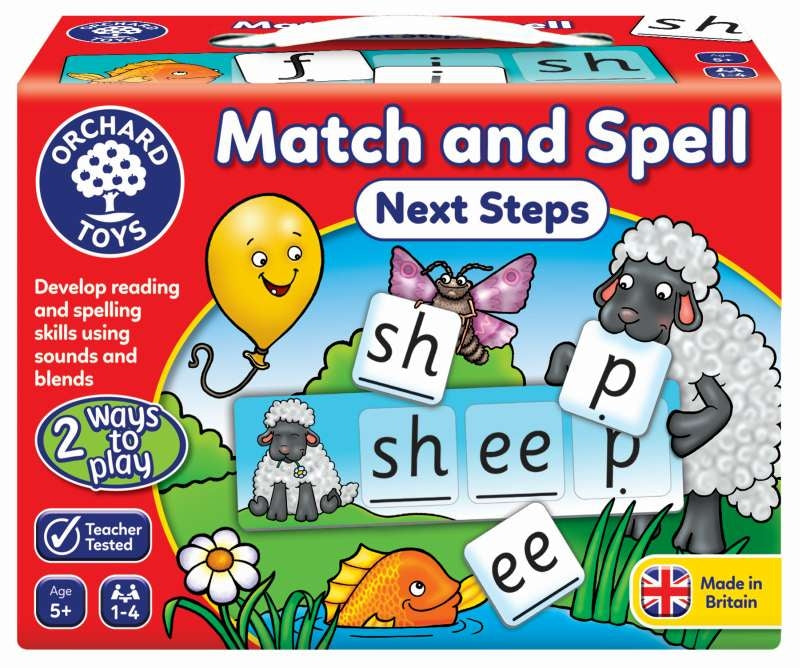 Match & Spell Next Steps - Orchard Toys