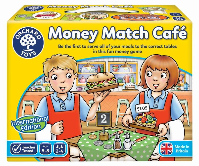 International Money Match Cafe - Orchard Toys