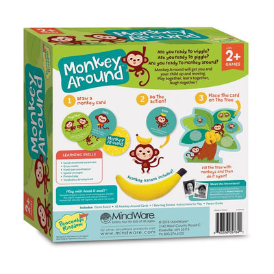 Monkey Around Game - Peaceable Kingdom