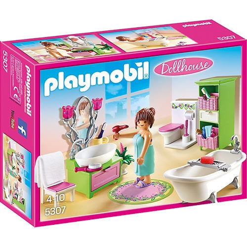 Vintage Bathroom - Playmobi