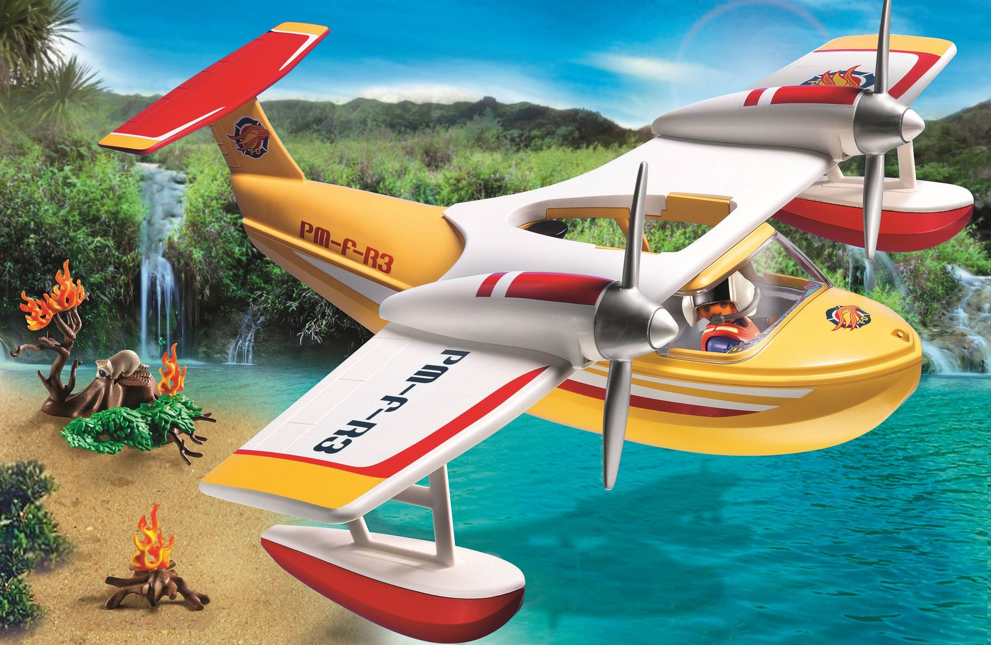 Firefighting Seaplane - Playmobil