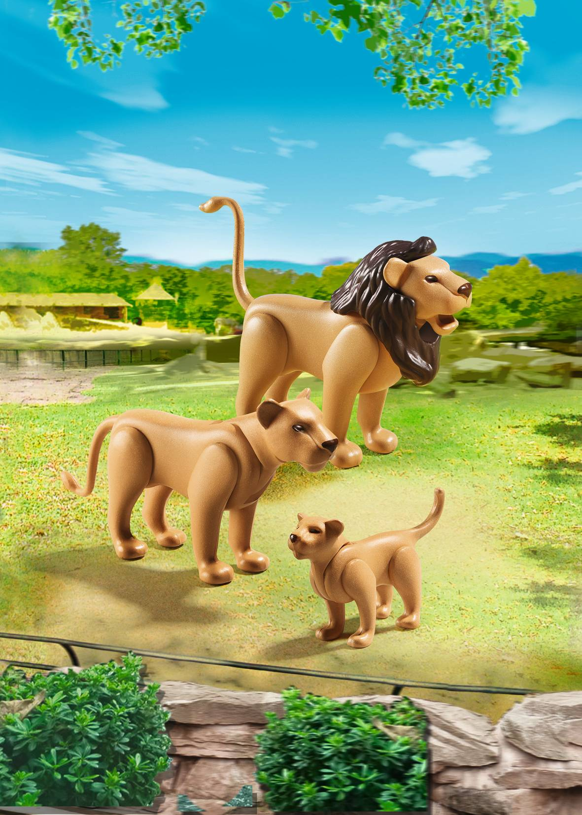 Lion Family - Playmobil