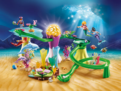 Mermaid Cove with Illuminated Dome - Playmobil