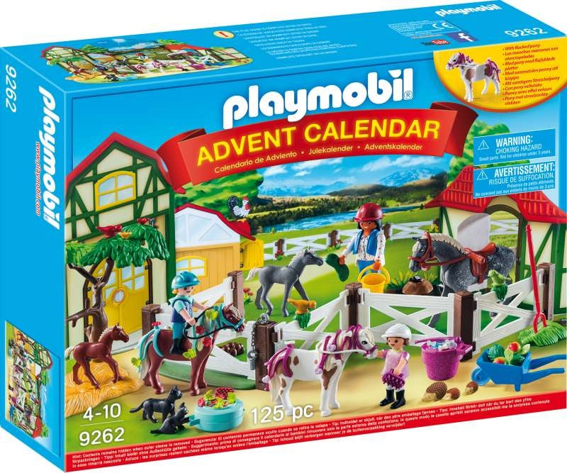 Horse Farm Advent Calendar - Playmobil