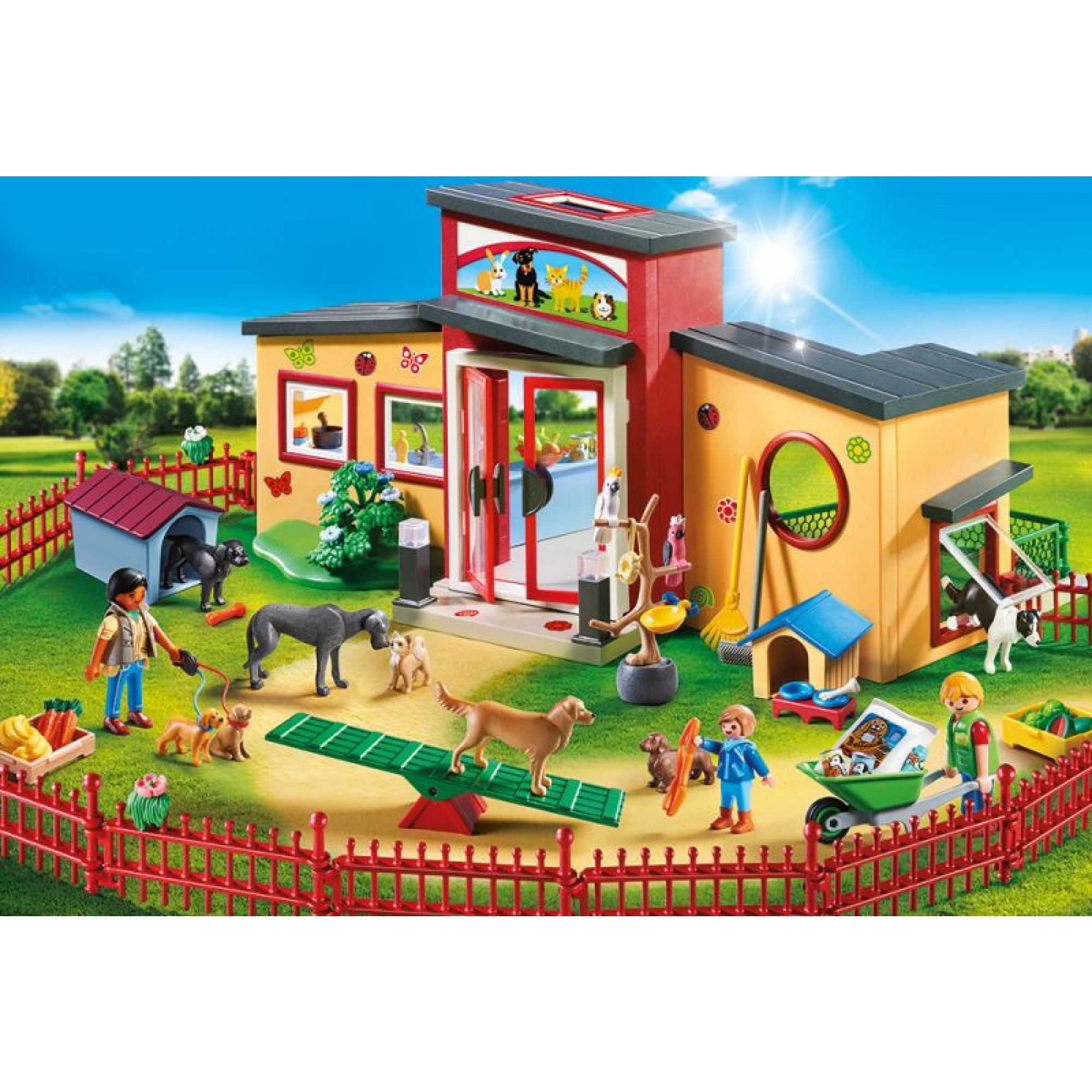 Tiny Paws Pet Hotel - Playmobil