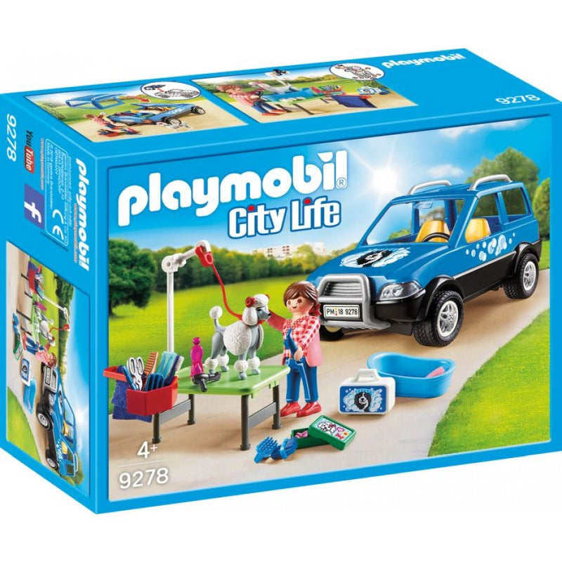 Mobile Pet Groomer - Playmobil