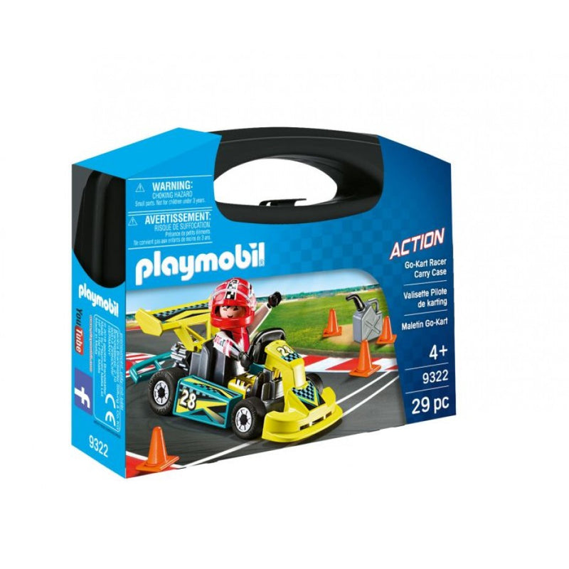 Go-Kart Racer Carry Case - Playmobil