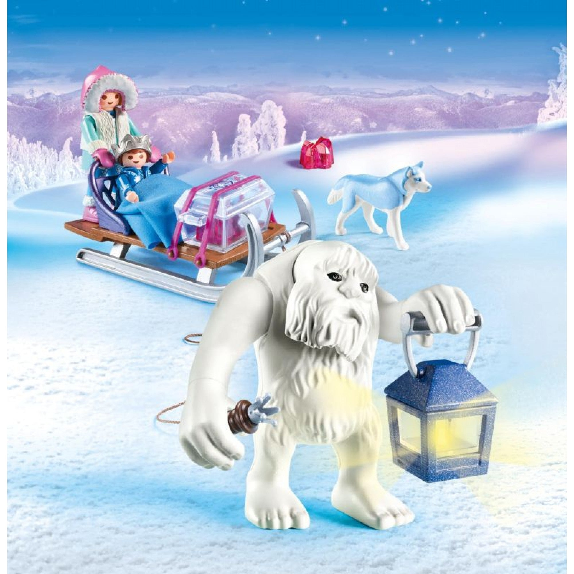 Yeti with Sleigh - Playmobil