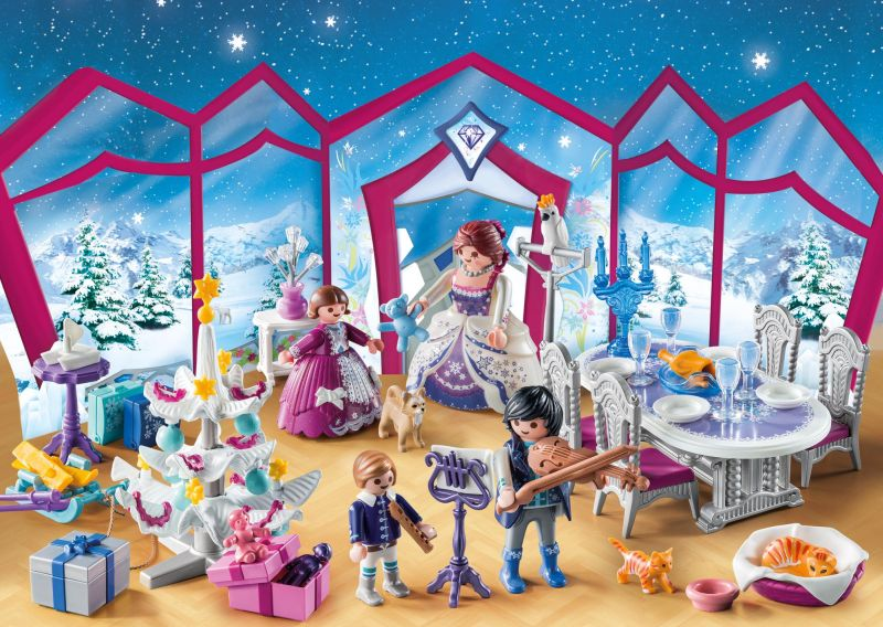 Christmas Ball Advent Calendar - Playmobil