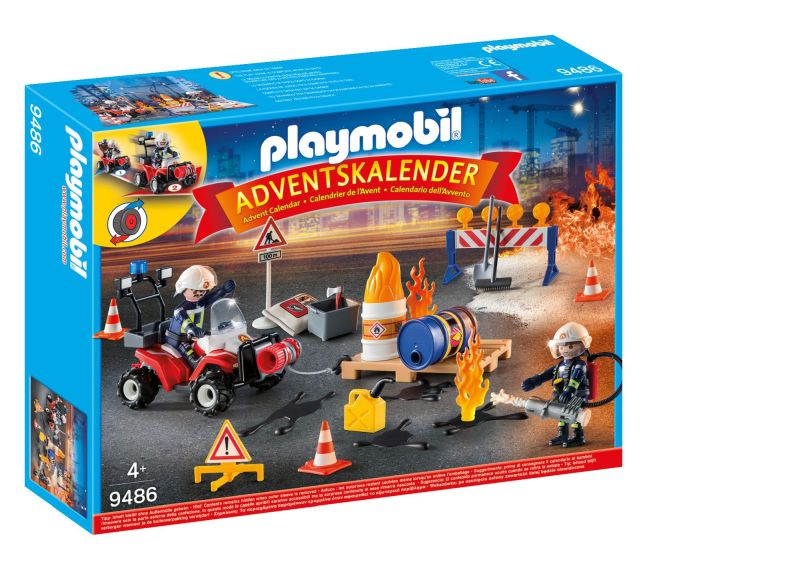 Construction Fire Rescue Advent Calendar - Playmobil