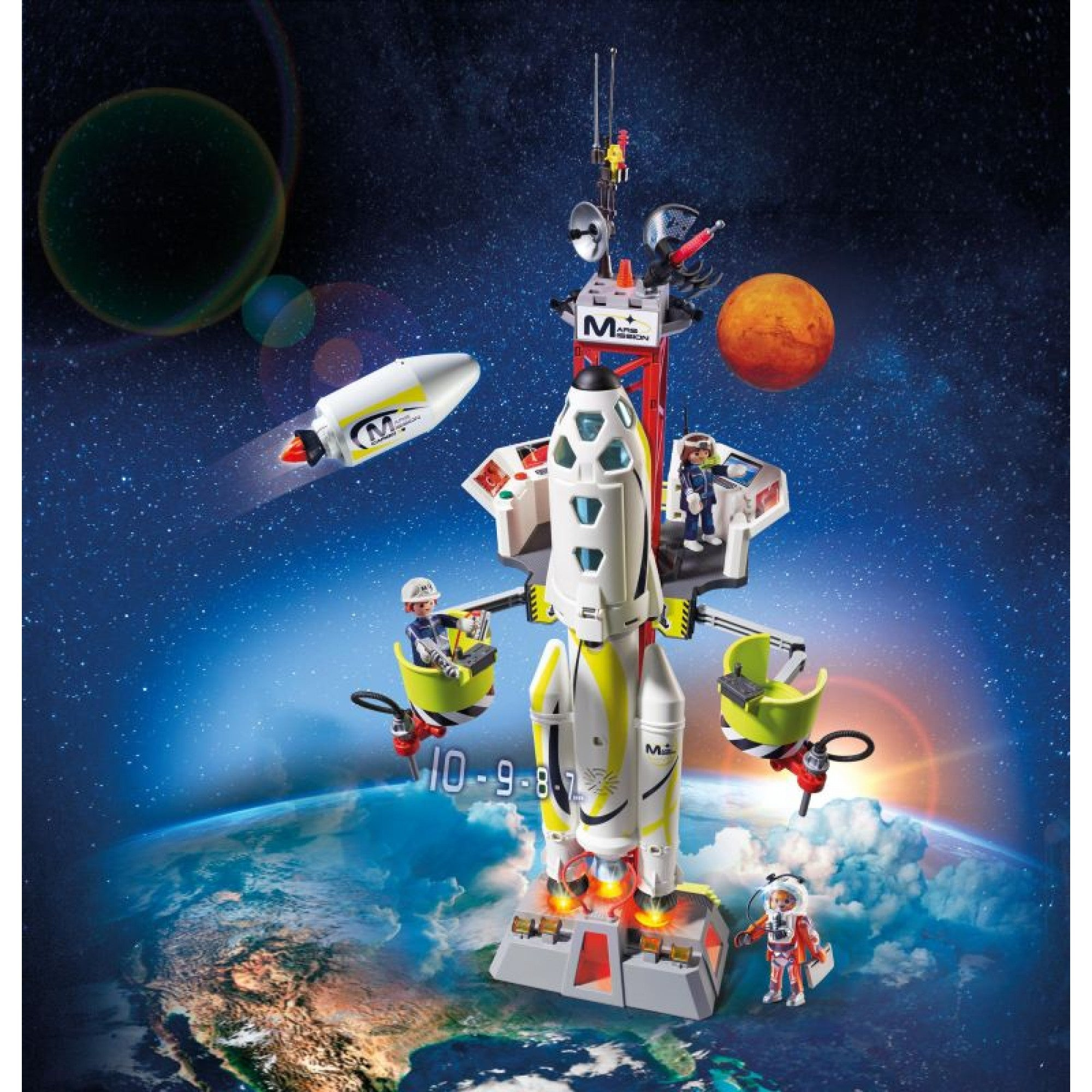 Mars Mission Rocket with Launch Site - Playmobil