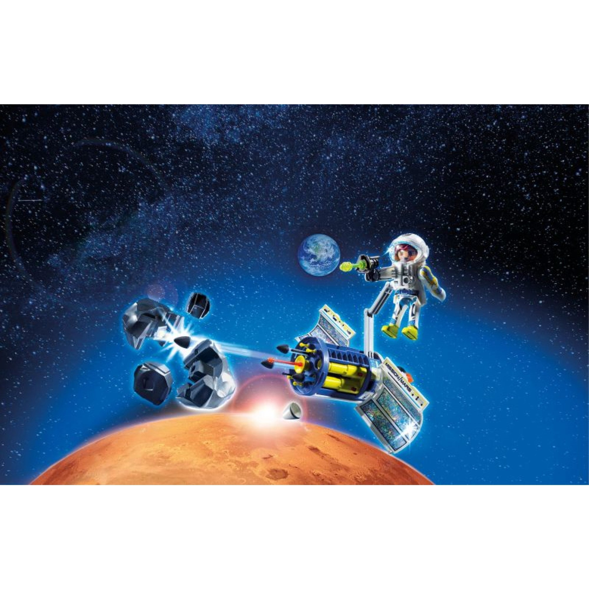 Satellite Meteoroid Laser - Playmobil