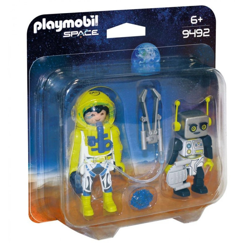 Astronaut and Robot - Playmobil