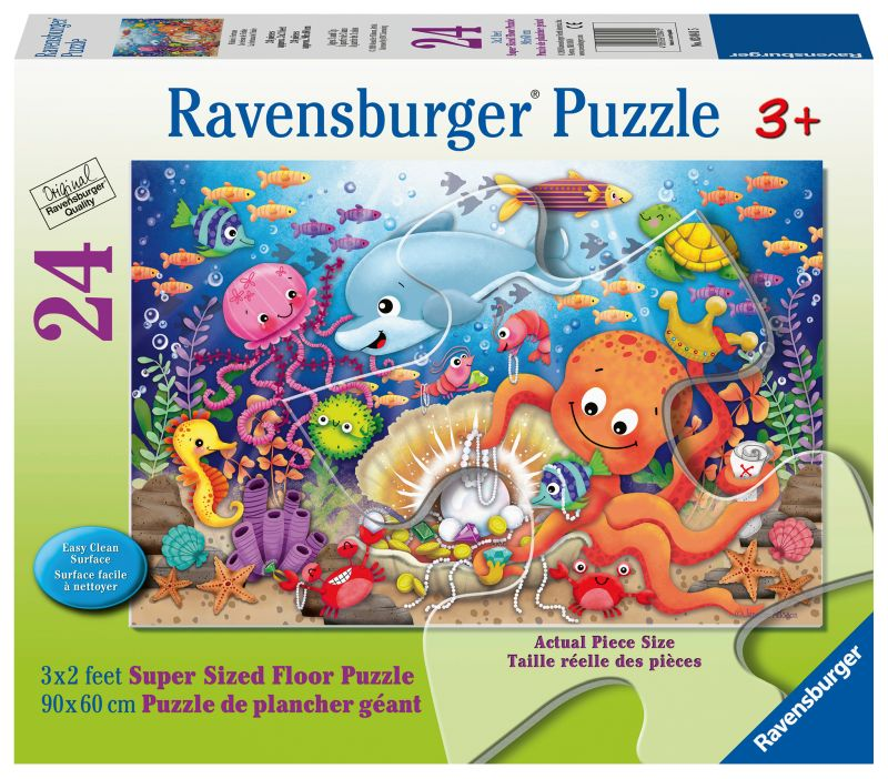 Fishie's Fortune SuperSize 24pc Puzzle - Ravensburger