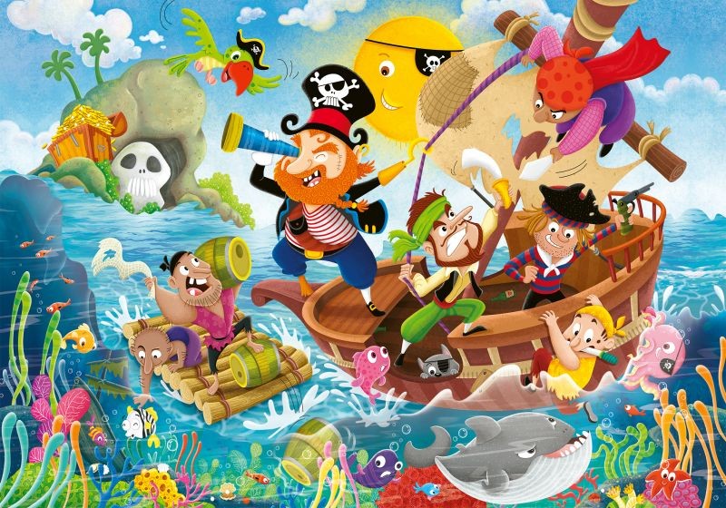 Land Ahoy SuperSize 24pc Puzzle - Ravensburger