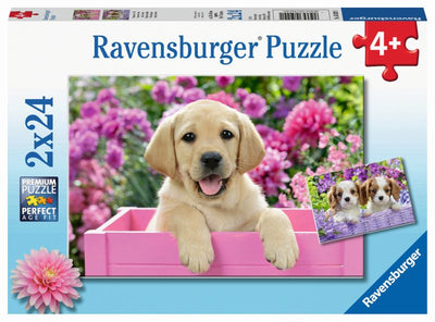 Me and My Pal 2x24pc Puzzles - Ravensburger