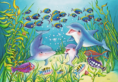 On the Seabed 2x12pc Puzzles - Ravensburger