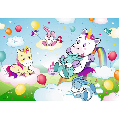 Fairytale Unicorn 2x24pc Puzzles - Ravensburger