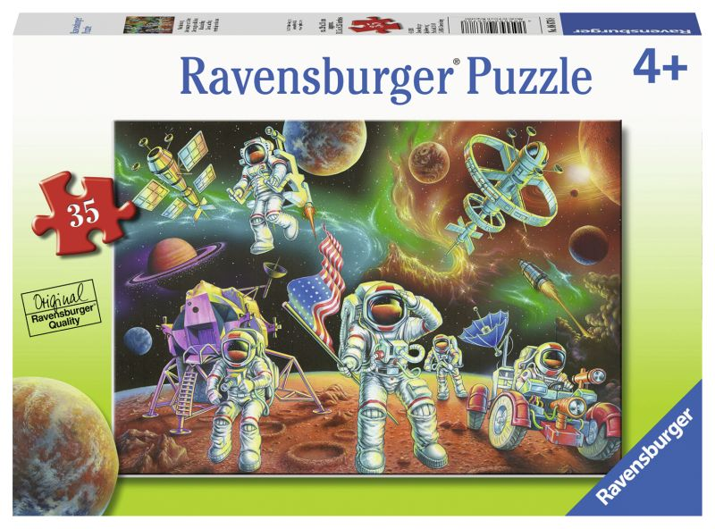 Moon Landing 35pc Puzzle - Ravensburger