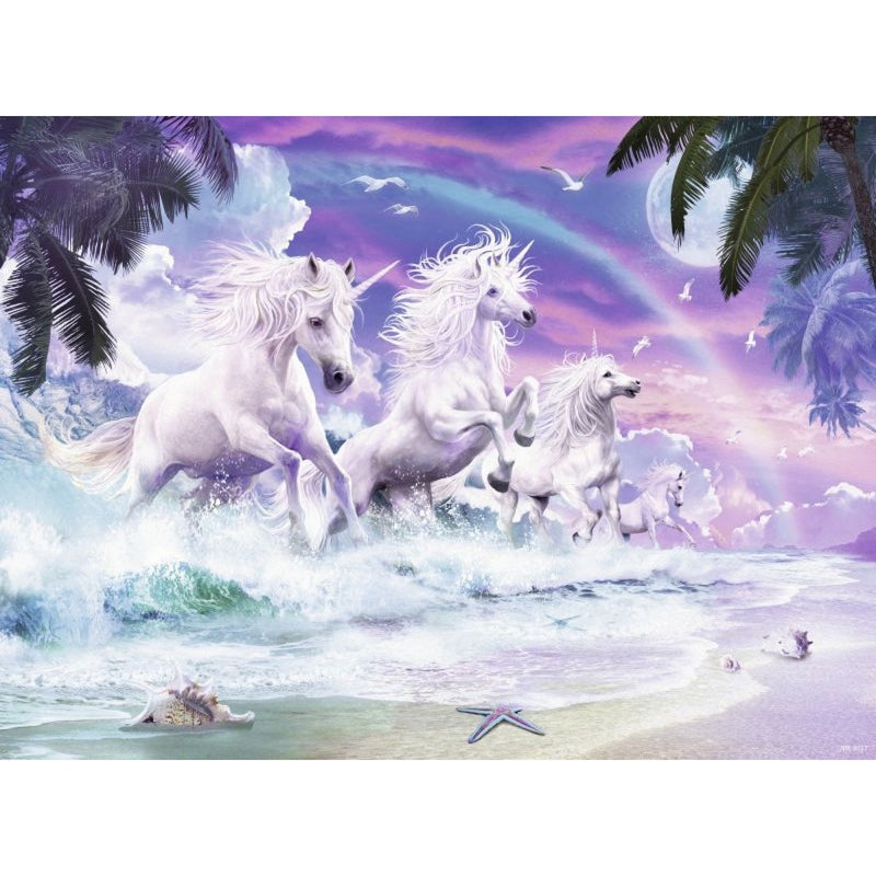 Unicorns on the Beach 150pc Puzzle - Ravensburger