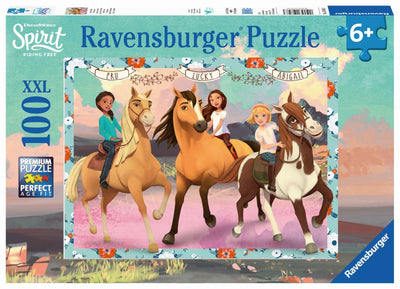Spirit Lucky and Her Friends 100pc Puzzle - Ravensburger