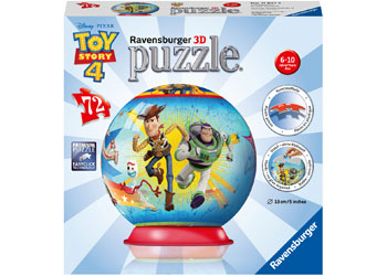Disney Pixar Toy Story 4 72pc 3D Puzzleball - Ravensburger