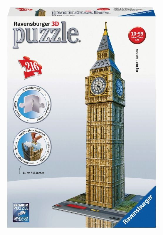 Big Ben 3D 216pc Puzzle - Ravensburger