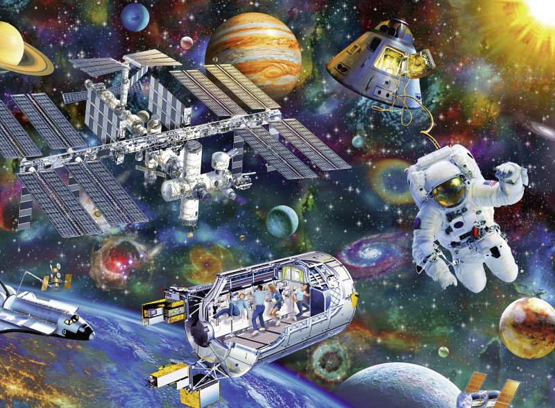 Cosmic Exploration 200pc Puzzle - Ravensburger