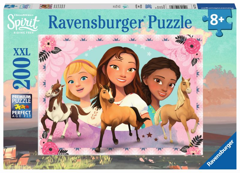 Spirit Adventure with Lucky 200pc Puzzle - Ravensburger