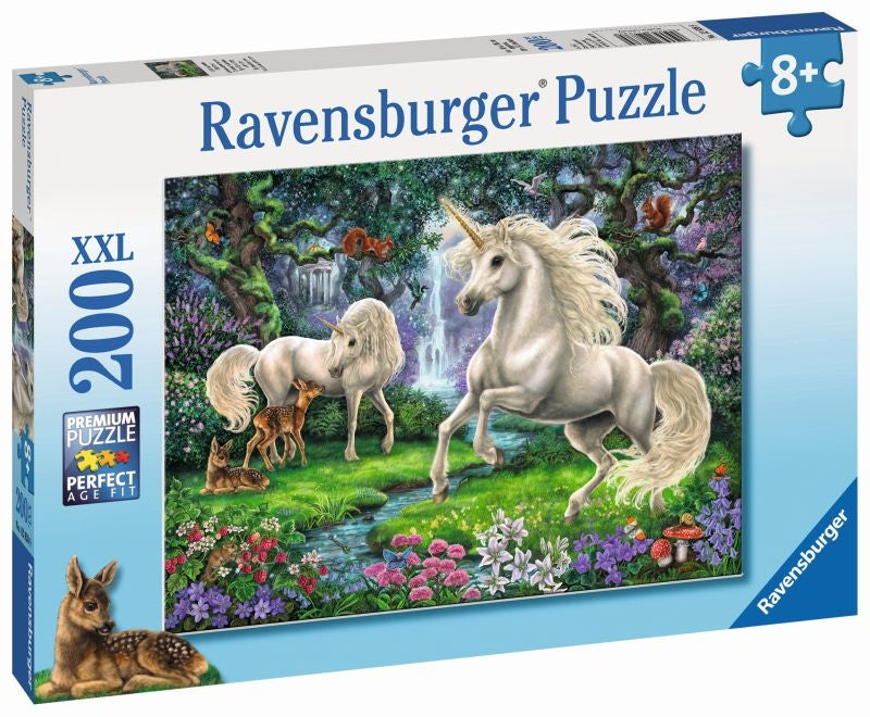 Mystical Unicorns 200pc Puzzle - Ravensburger