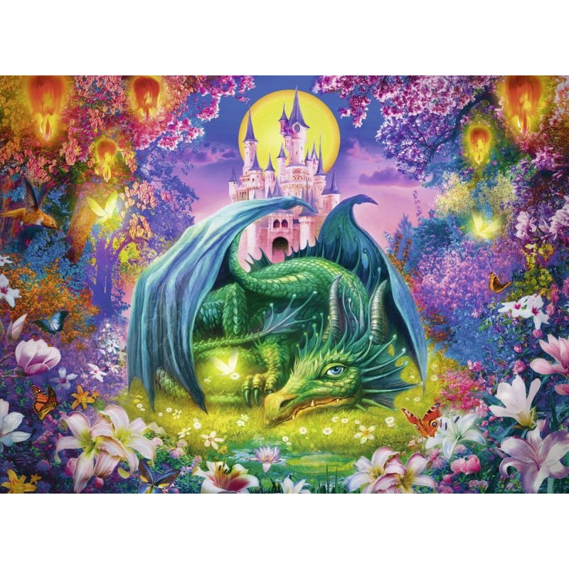 Mystical Dragon 300pc Puzzle - Ravensburger