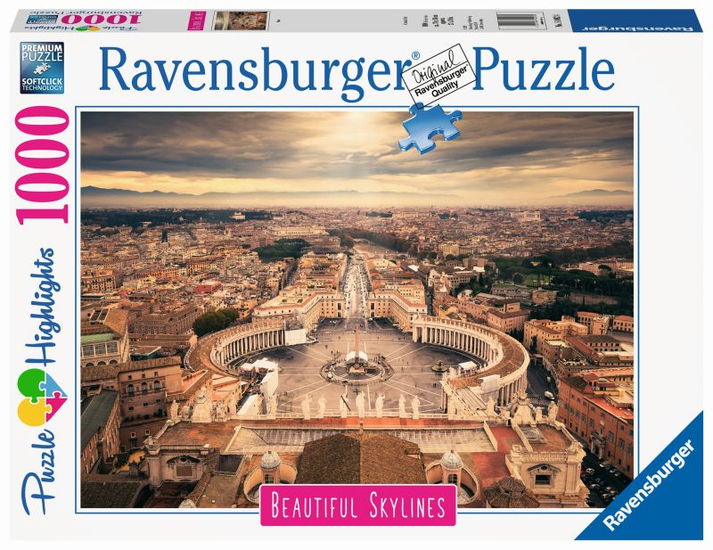 Rome 1000pc Beautiful Skylines Puzzle - Ravensburger