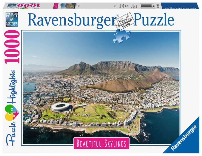 Cape Town 1000pc Beautiful Skylines Puzzle - Ravensburger