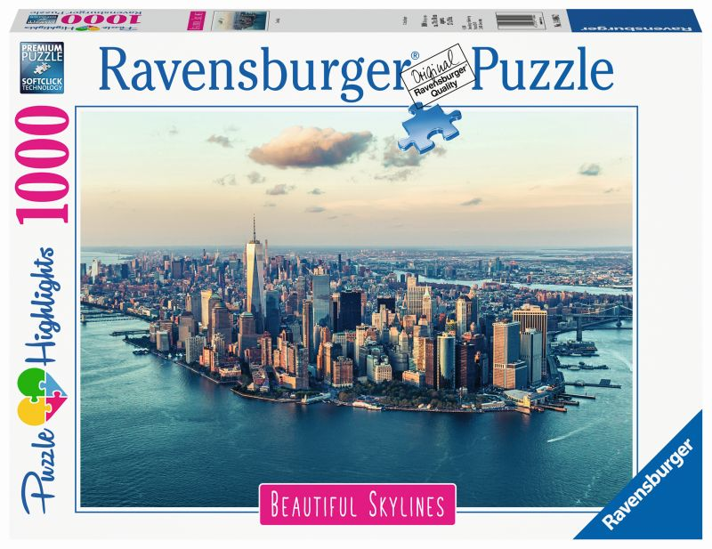 New York 1000pc Beautiful Skylines Puzzle - Ravensburger