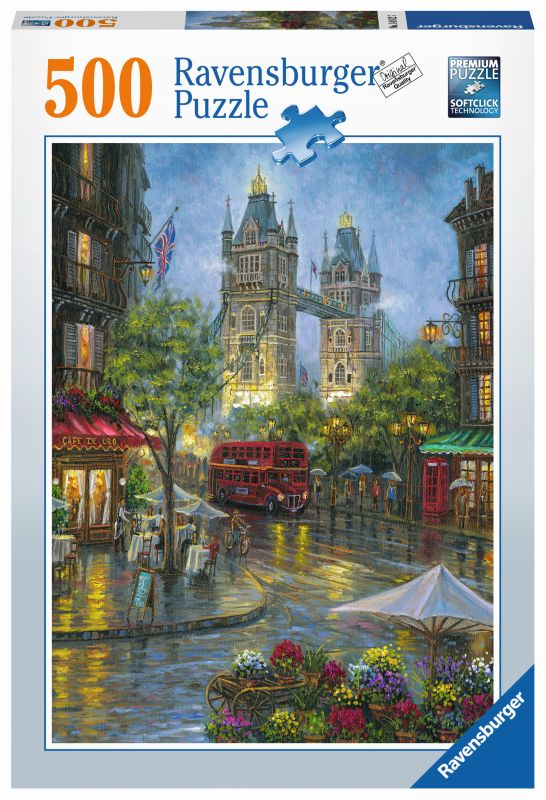 Picturesque London 500pc Puzzle - Ravensburger