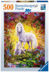 Unicorn and Foal 500pc Puzzle - Ravensburger