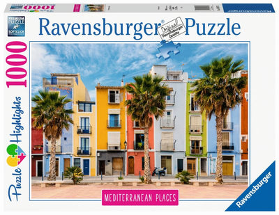 Mediterranean Spain 1000pc Puzzle - Ravensburger