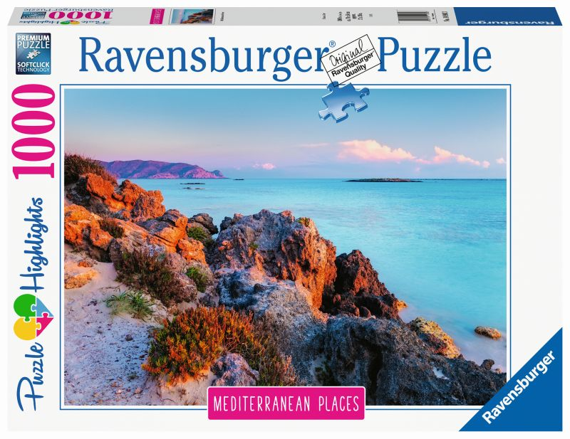 Mediterranean Greece 1000pc Puzzle - Ravensburger