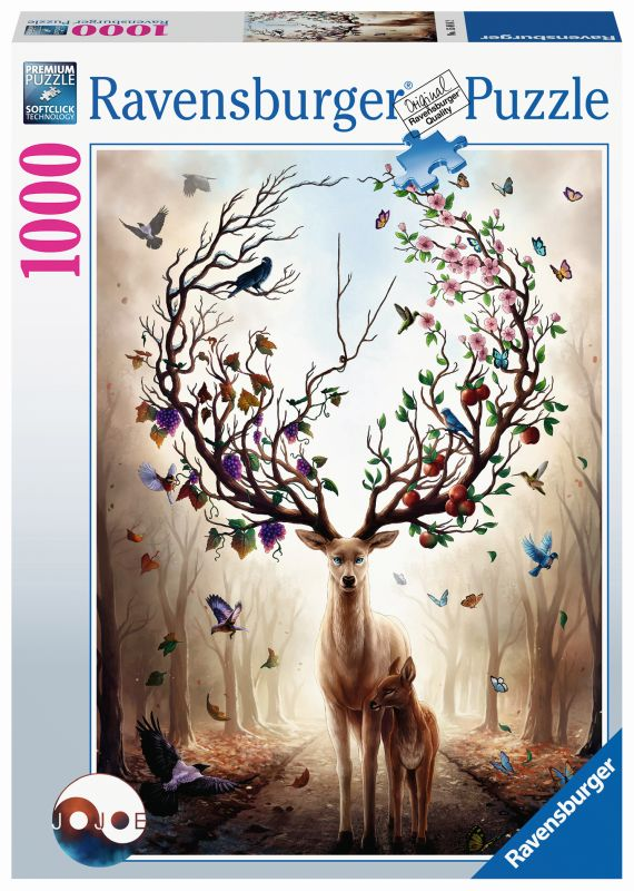 Magical Deer 1000pc Puzzle - Ravensburger