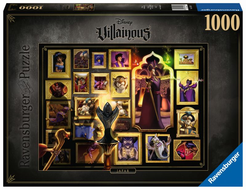 Jafar Disney Villainous 1000pc Puzzle - Ravensburger
