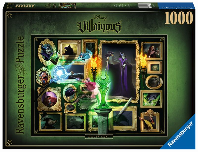 Maleficent Disney Villainous 1000pc Puzzle - Ravensburger