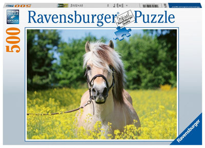 White Horse 500pc Puzzle - Ravensburger
