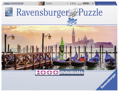 Gondolas in Venice 1000pc Puzzle - Ravensburger