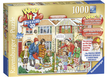 WHAT IF? No 20 Christmas Lights 1000pc Puzzle - Ravensburger