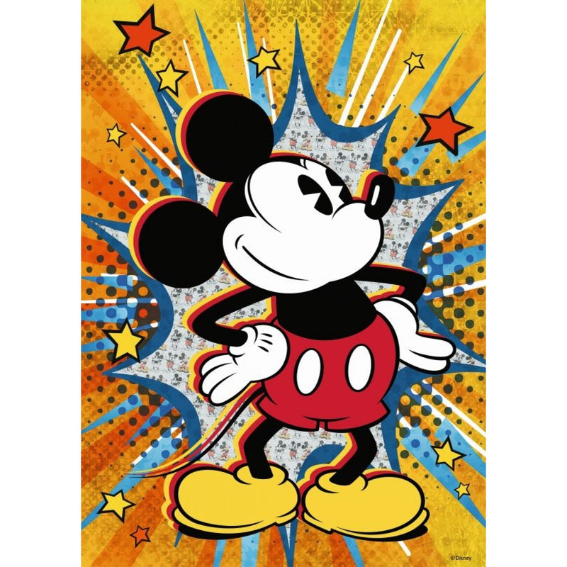 Disney Retro Mickey 1000pc Puzzle - Ravensburger