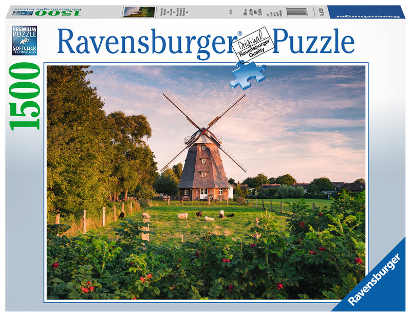 Windmill on the Baltic Sea 1500pc Puzzle - Ravensburger