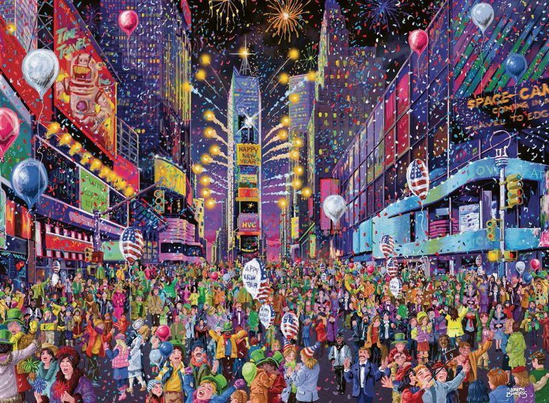 New Years in Times Square 500pc Puzzle - Ravensburger