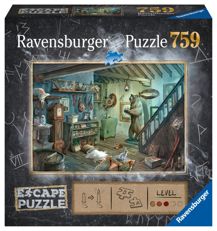 Forbidden Basement 759pc Escape Puzzle - Ravensburger